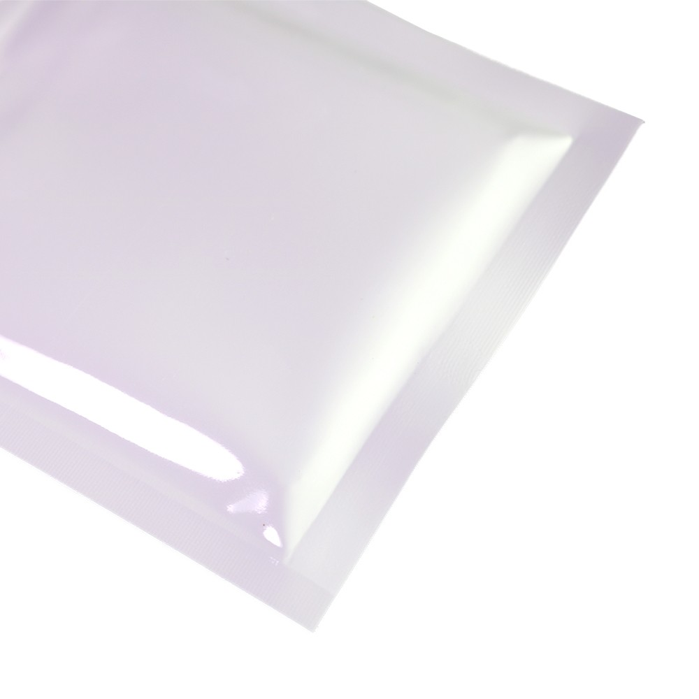 white shiny metallic mylar ziplock bags 7 5 cm x 10 cm 3 inches x 4 inches 500 bags lot. Black Bedroom Furniture Sets. Home Design Ideas
