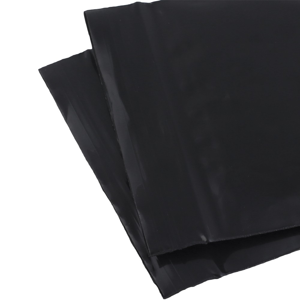 soft flat black plastic poly ziplock bags 7 cm x 10 cm inches x 3 9 inches 500 bags lot. Black Bedroom Furniture Sets. Home Design Ideas