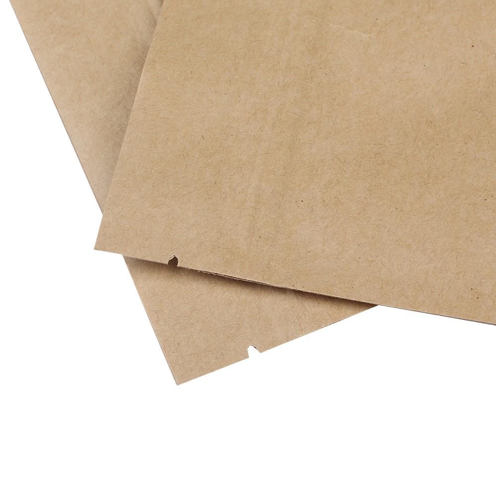 brown kraft flat ziplock bags w display window 14 cm x 20 cm 5 5 inches x 7 8 inches 500. Black Bedroom Furniture Sets. Home Design Ideas