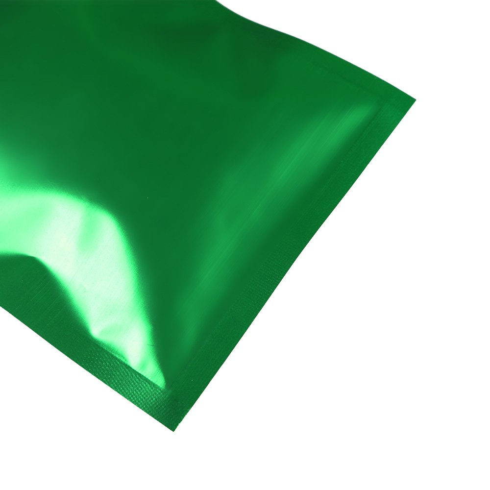 green foil flat ziplock bags w triangle hanghole 8 5 cm x 14 cm 3 3 inches x 5 5 inches 500. Black Bedroom Furniture Sets. Home Design Ideas