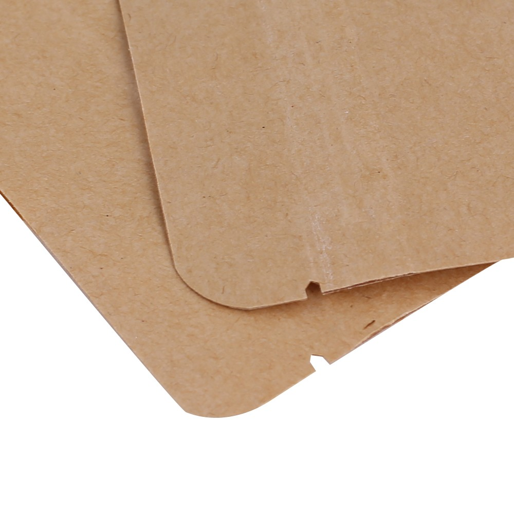 brown kraft standup ziplock bags w clear front window 9 cm x 14 cm 3 5 inches x 5 5 inches. Black Bedroom Furniture Sets. Home Design Ideas