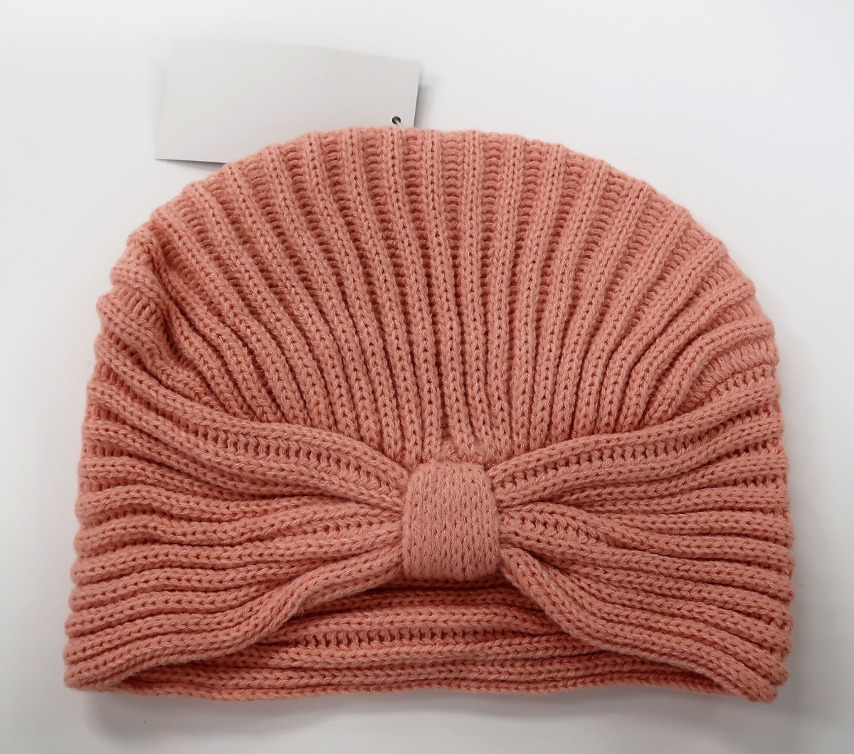 99819ba76d1 More Views. 1. PrevNext. KBB Pink Striated Design Knottled Beanie Hat (3  Hats Lot)