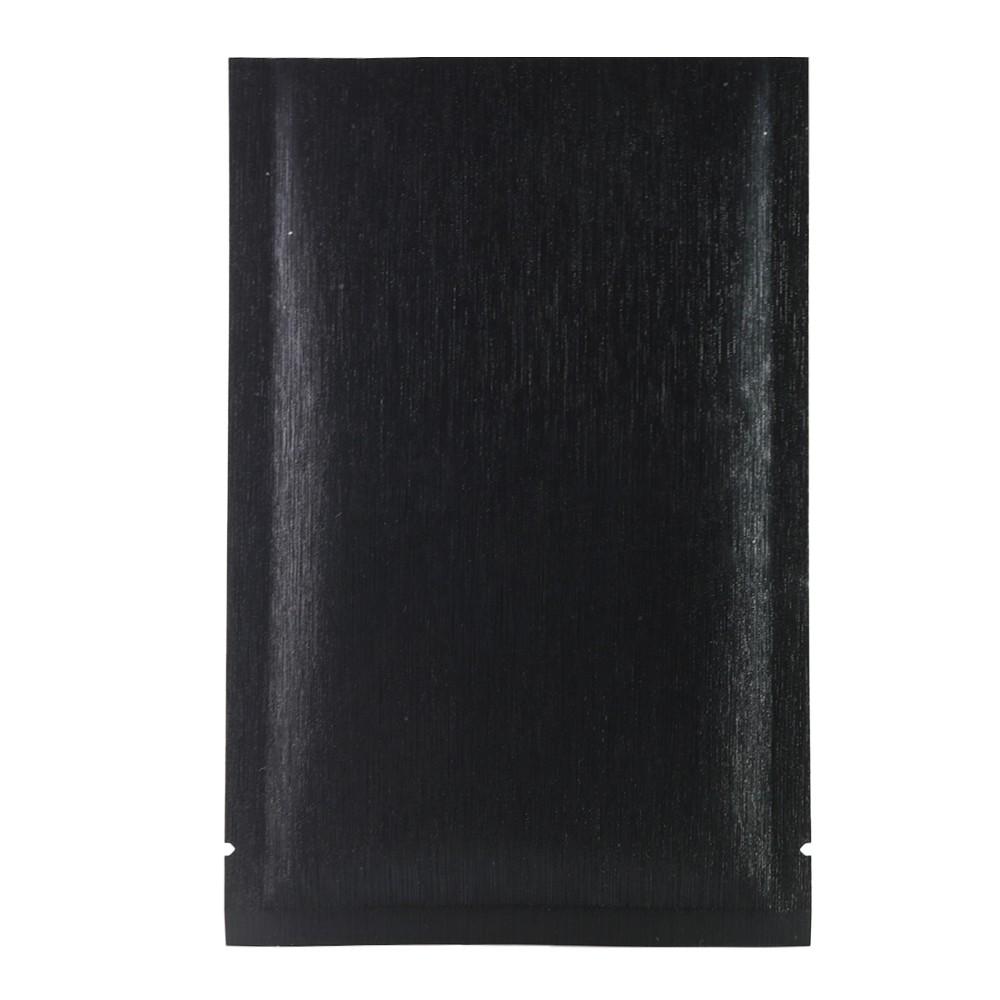 black texture rice paper mylar foil flat open top bags 6. Black Bedroom Furniture Sets. Home Design Ideas