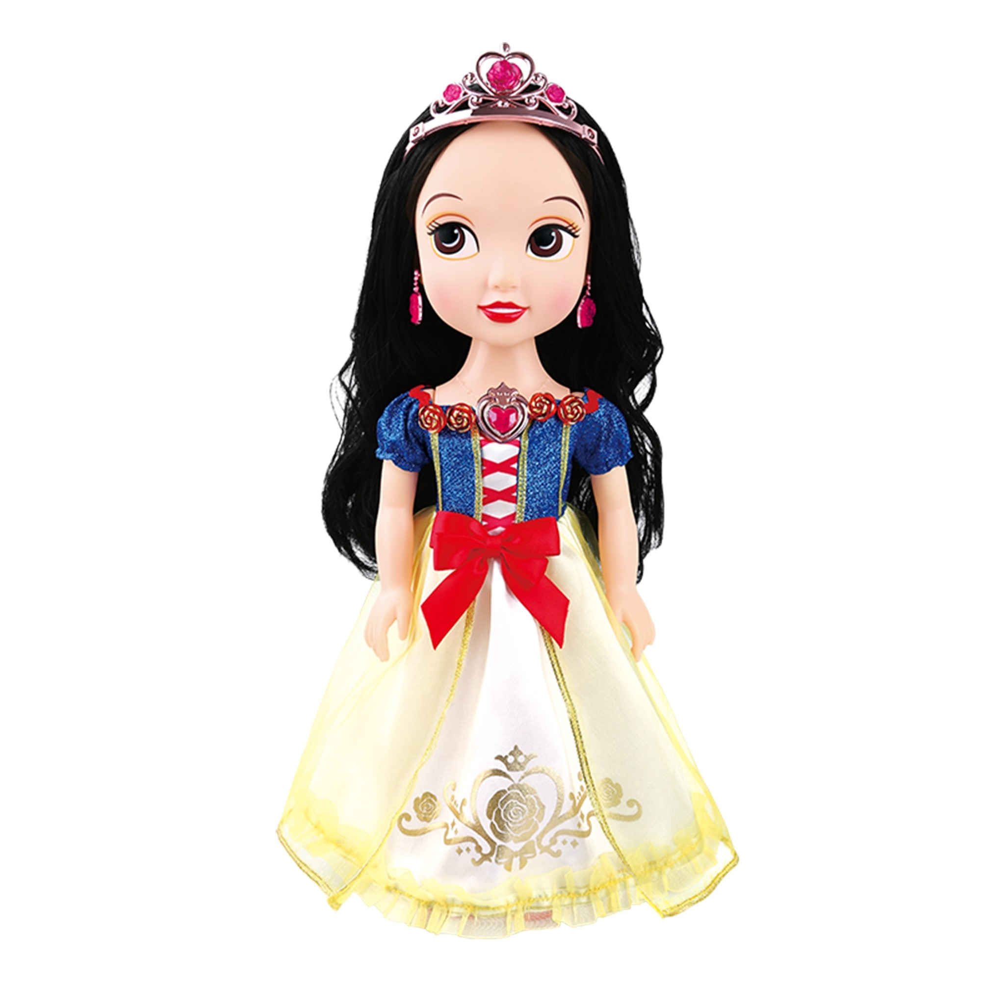 "Snow White Fairy Princess Dress-Up Story Telling 13.5"" Doll (1 Doll/Lot)"