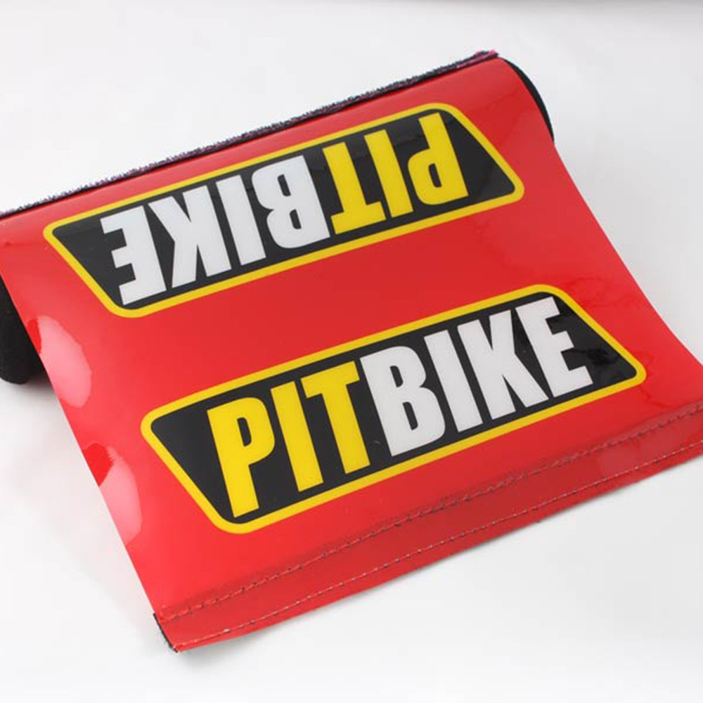 Durable Resilient Professional Biker Crossbar Protector Pad (Red) (5 Pads/Lot)