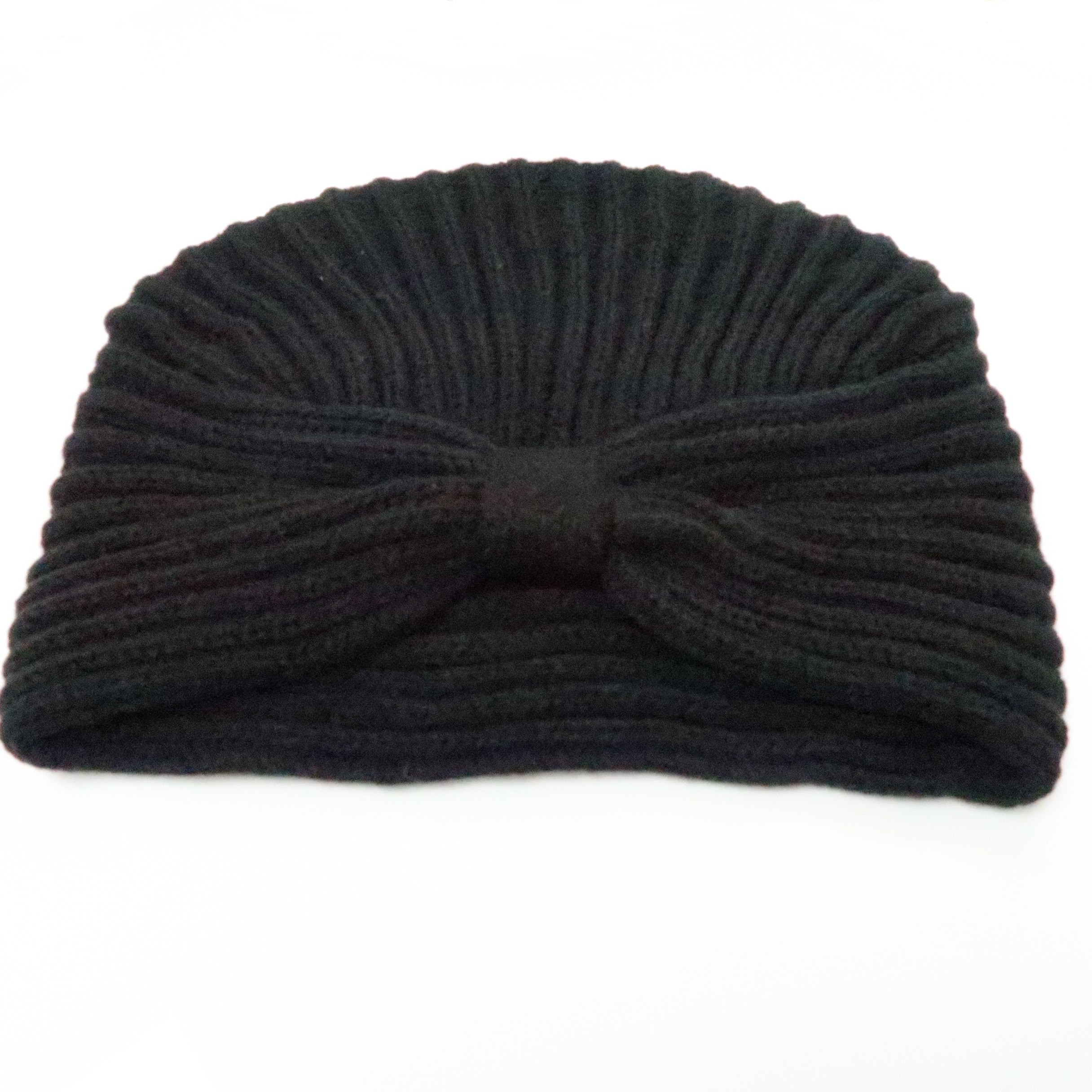 b1d21a98f26 KBB Black Striated Design Knottled Beanie Hat (3 Hats Lot) - Apparel    Shoes