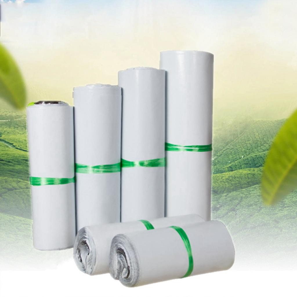 """500 White Poly Mailer Shipping Bags 11.8"""" x 16.5"""" (30 cm x 42 cm) (500 Bags/Lot)"""