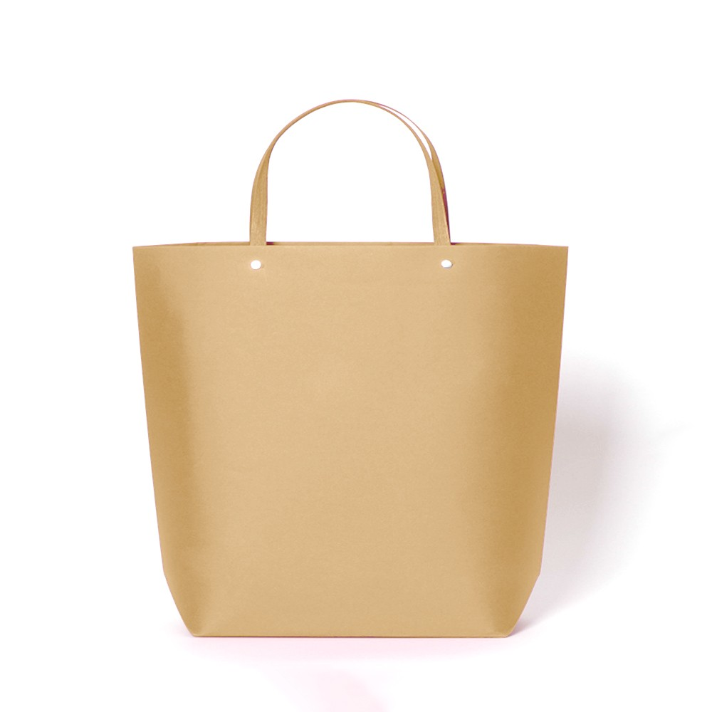 "Kraft Paper Bags with Cotton Handle Shopping Bags 32 cm x 26 cm x 11 cm (12.5"" x 10"" x 4.25"") (100 Bags/Lot)"