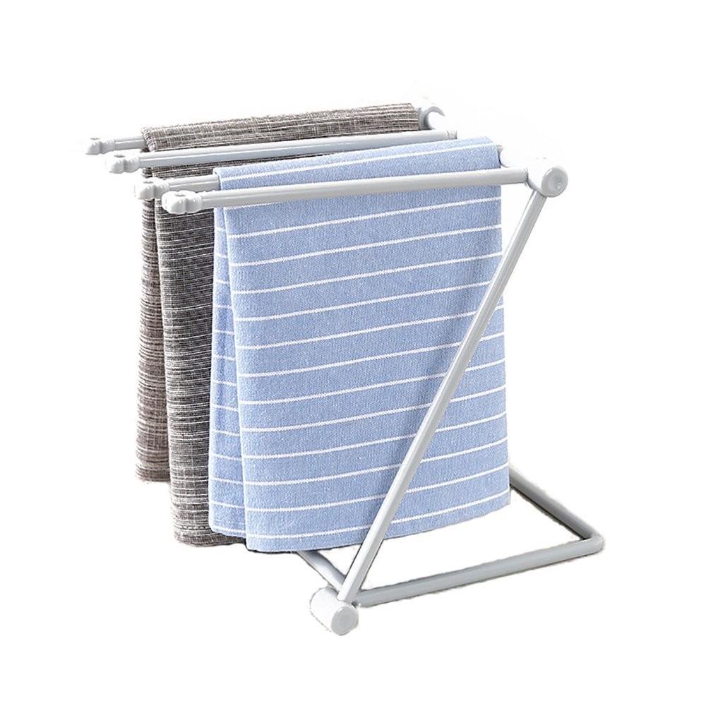 Indoor Foldable Grey Dishcloth & Towel Dryer Rack (20 x 16 x 25.5 cm) 100 Pieces/Lot