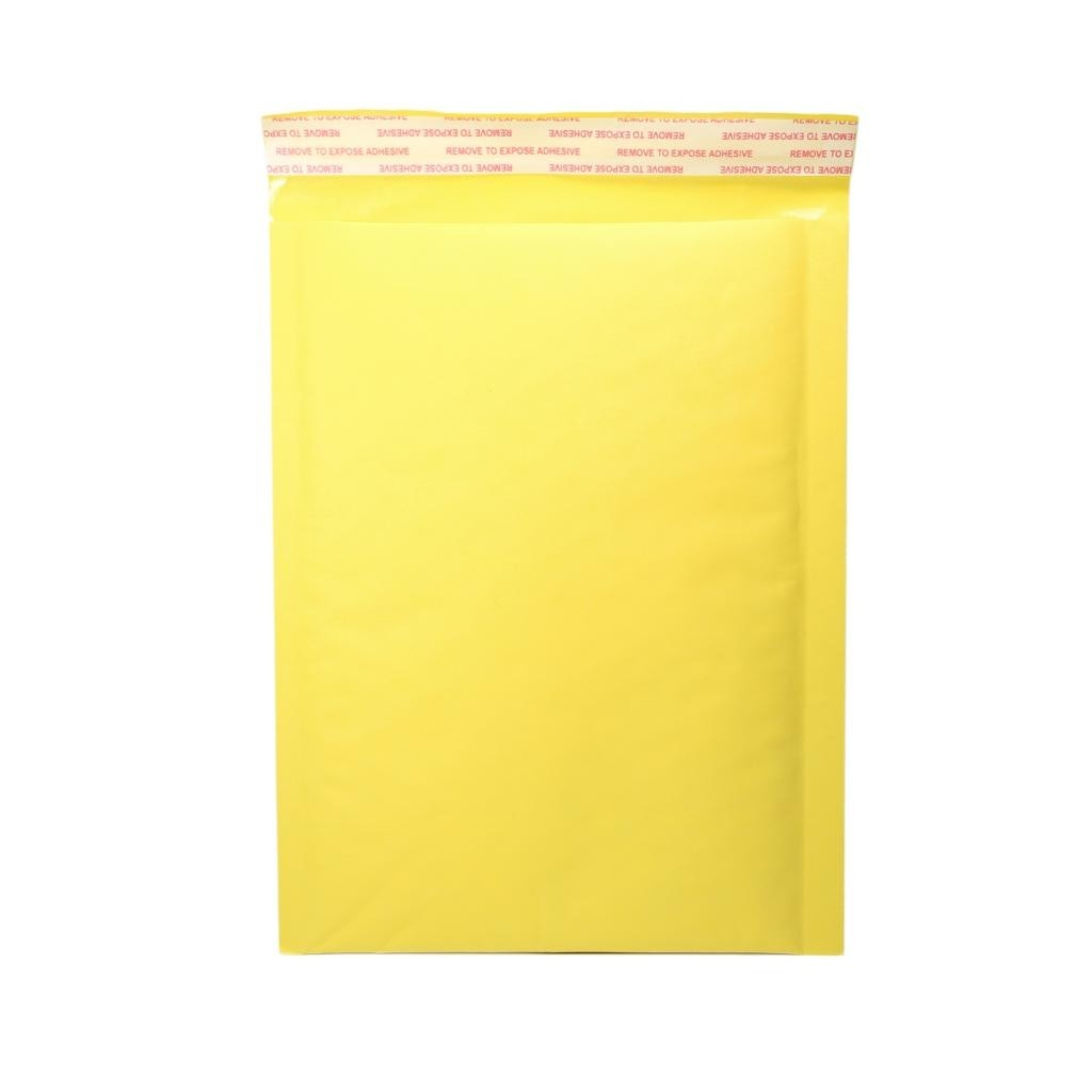 "500 Seal Kraft Bubble Mailers Padded Shipping Envelopes 8.6"" x 13"" (22 cm x 30cm) (500 Bags/Lot)"