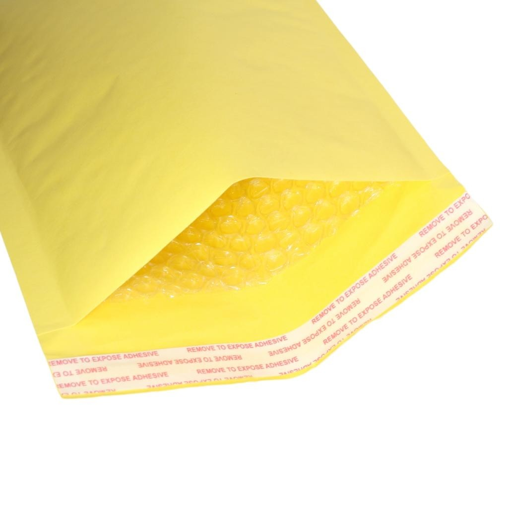 "500 Seal Kraft Bubble Mailers Padded Shipping Envelopes 4x8""(12x21cm) (500 Bags/ Lot)"