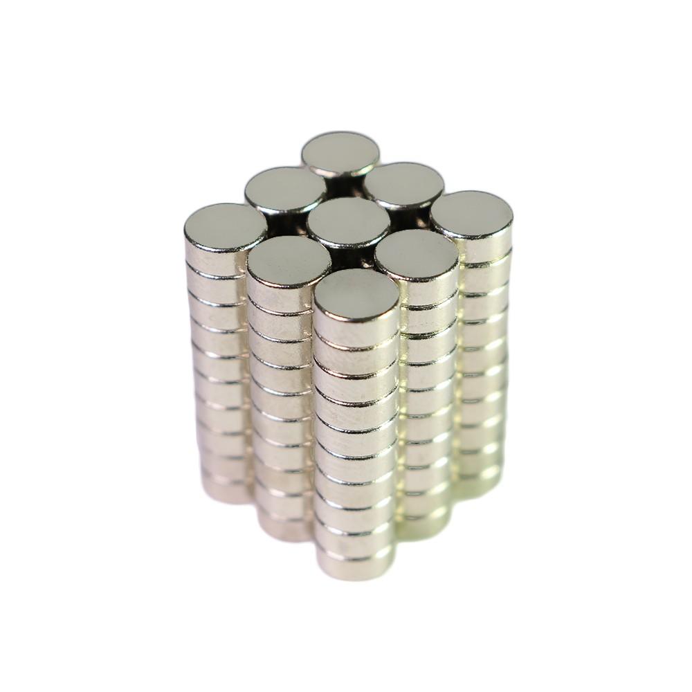Super Strong N35 Rare Earth Neodymium Magnets 5mm x 2mm (4 Packs/Lot)