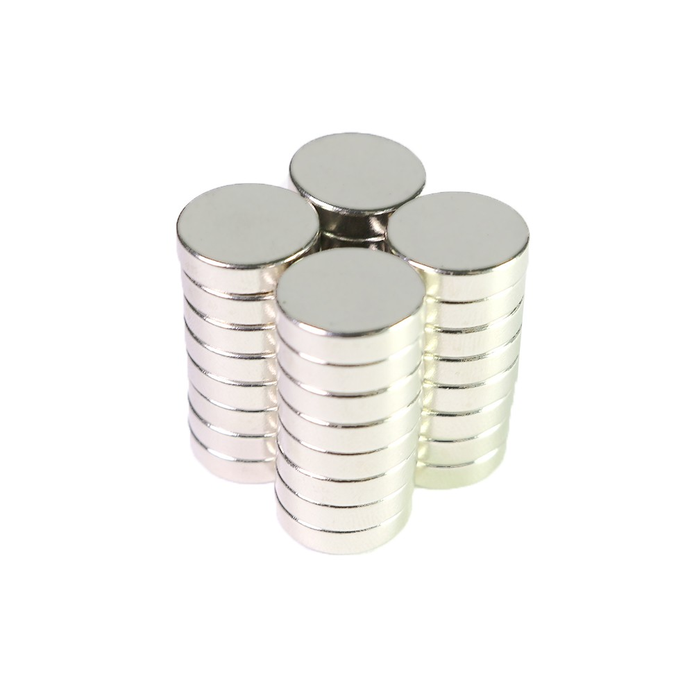 Super Strong N35 Rare Earth Neodymium Magnets 12mm x 3mm (4 Packs/Lot)