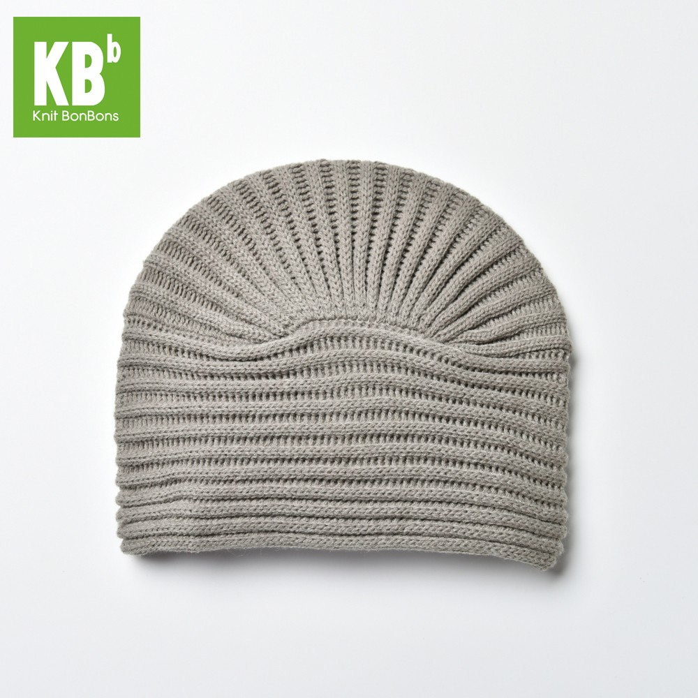 4c781d90f04 KBB Gray Striated Design Knottled Beanie Hat (3 Hats Lot) - Accessories -  Apparel   Shoes