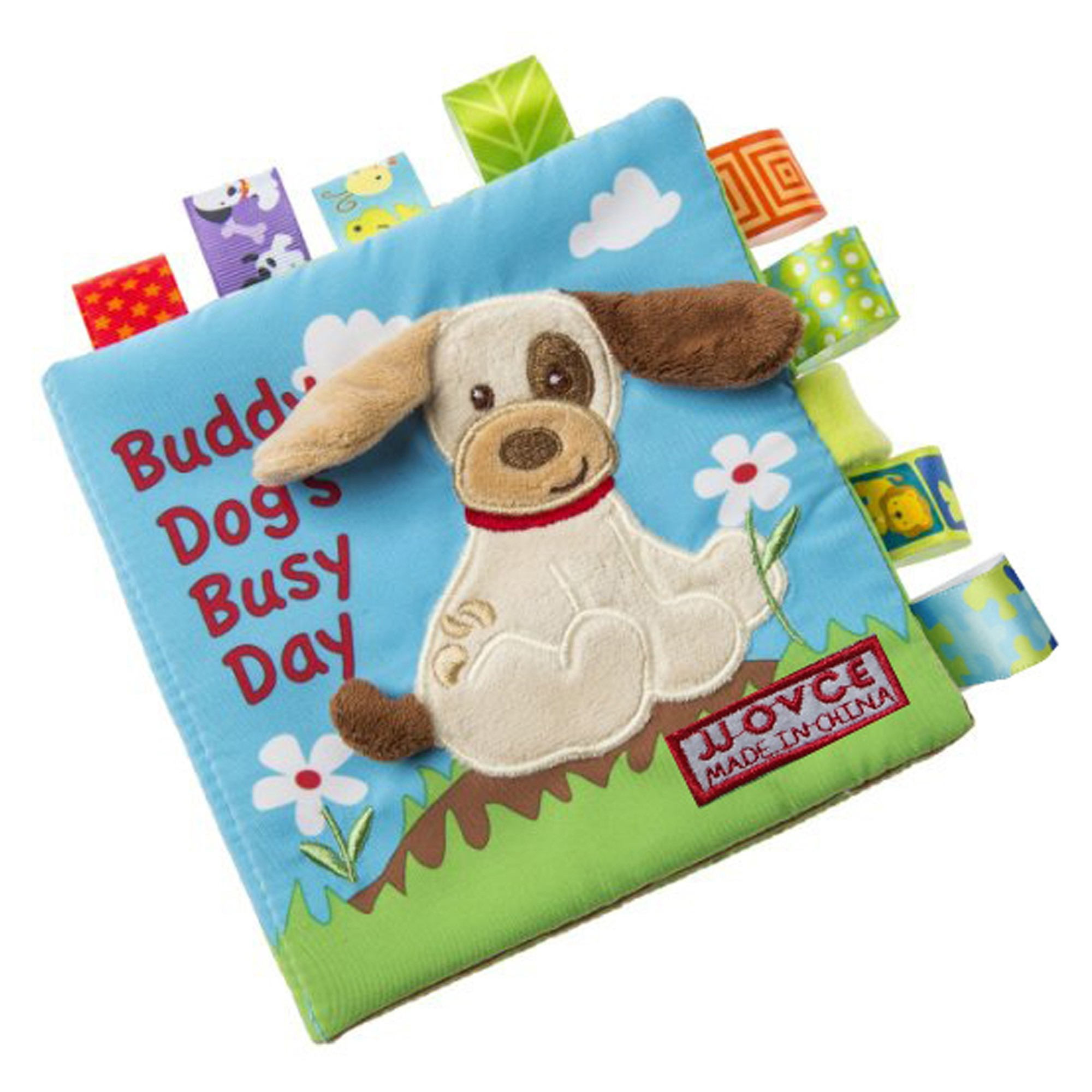 Buddy Dogs Busy Day Soft Cloth Intelligent Development Toy Book (3 Books/Lot)