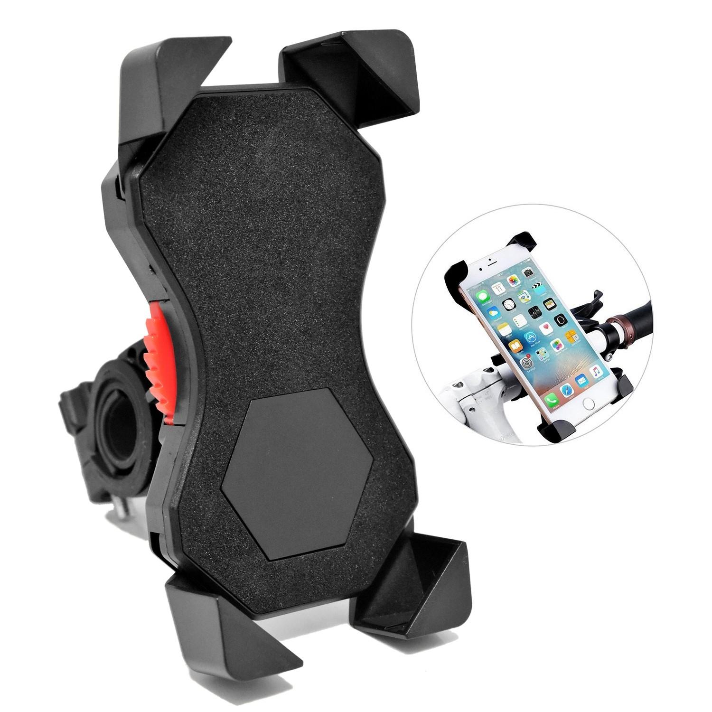 Universal 360 Rotating  Motorcycle Bicycle Bike Handlebar  Phone Mount Black