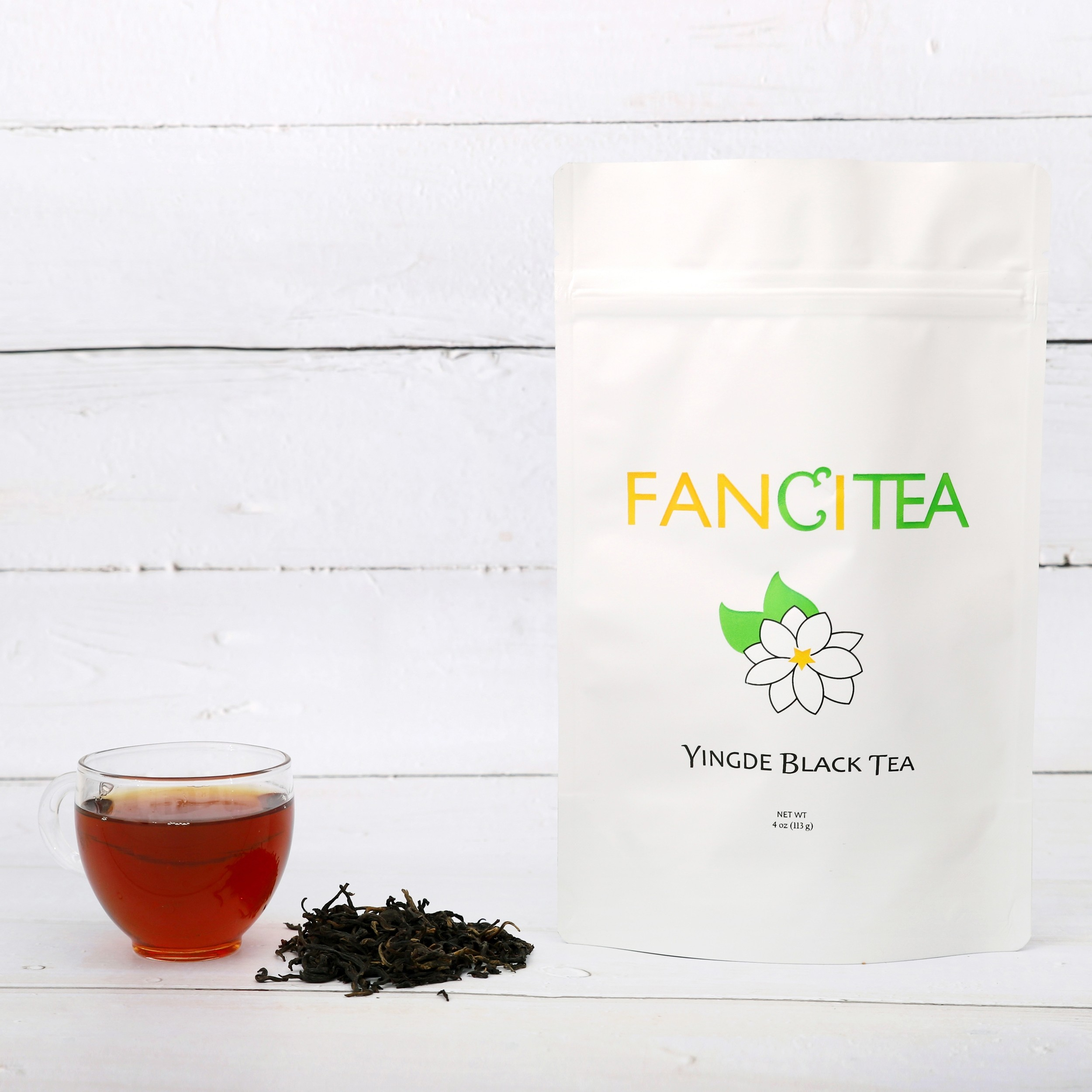 Fancitea Famous Chinese Premium Loose Yingde Black Tea Leaves 16oz/135 servings