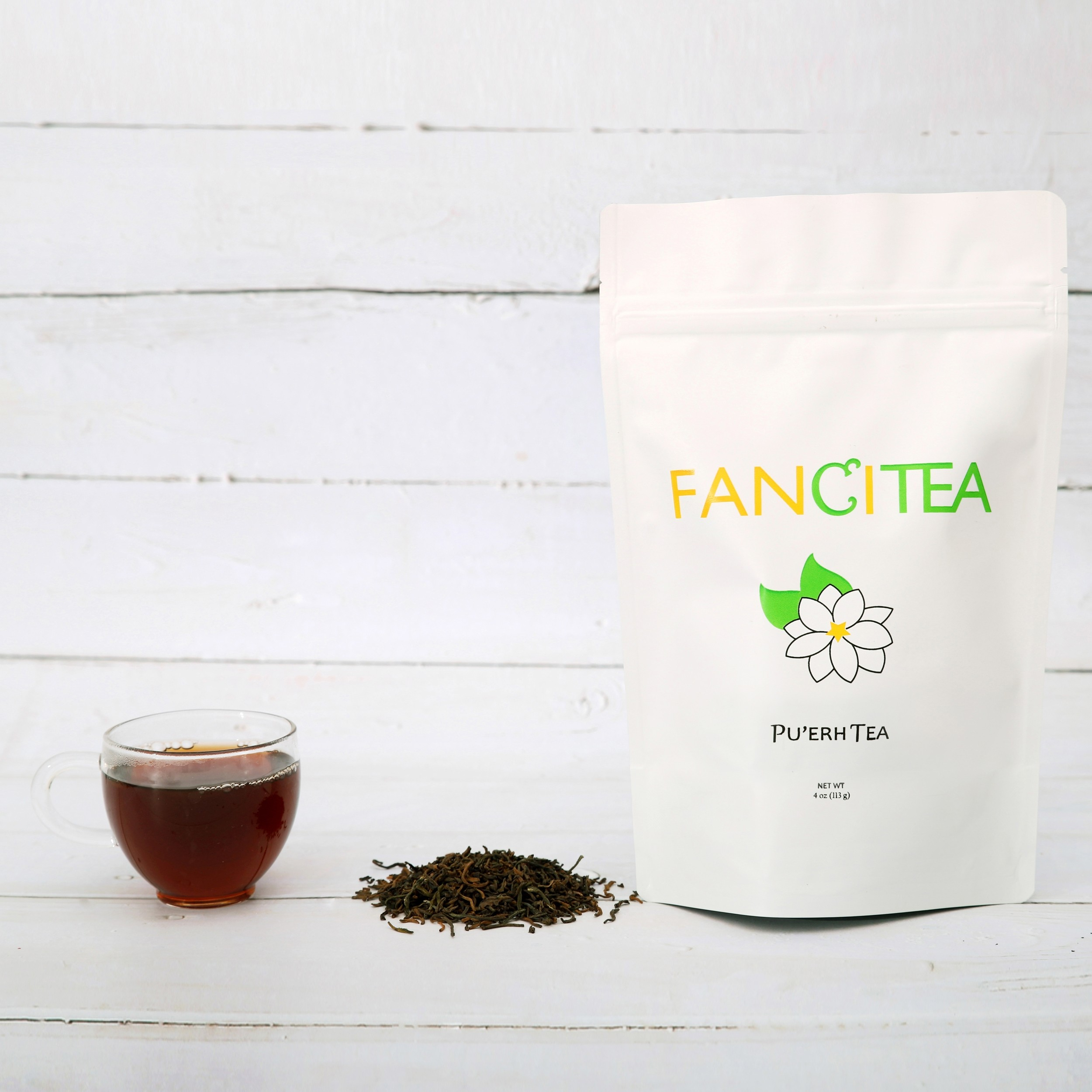 Fancitea High Quality Famous Chinese Pu'erh Loose Tea Leaves 4oz/45 servings