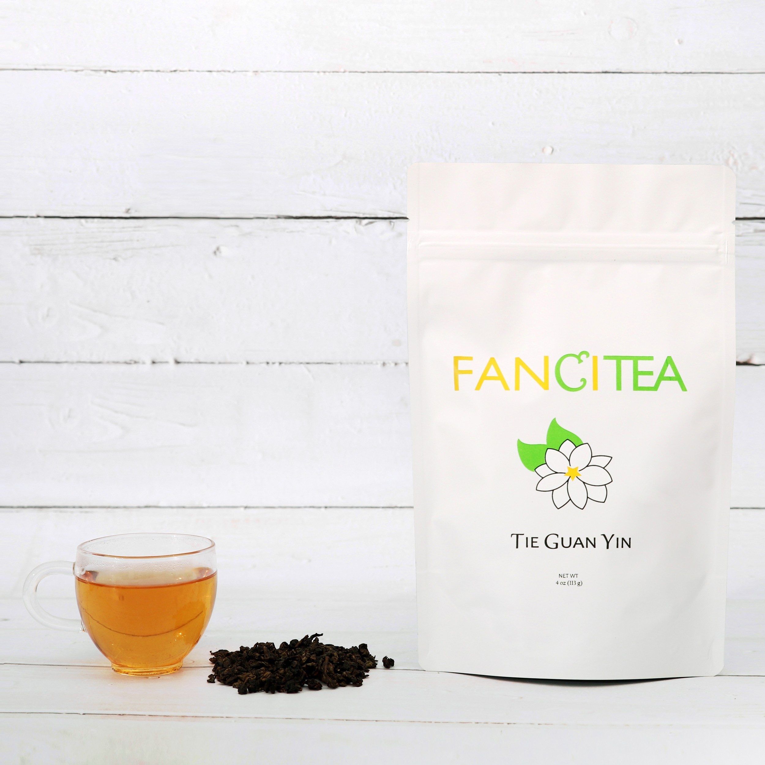 Fancitea Premium Tie Guan Yin Chinese Oolong Loose Tea Leaves 4oz/45 servings
