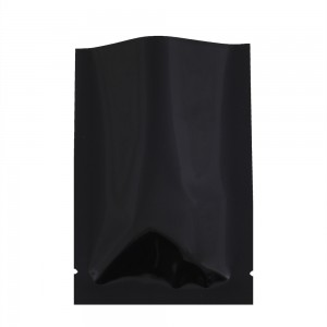 Black Metallized Flat Open Top Bags 4 cm x 6 cm [1.5 inches x 2.25 inches] (800 Bags/Lot)