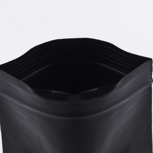 Soft Flat Black Plastic Poly Ziplock Bags 4 cm x 5 cm [1.5 inches x 2 inches] (500 Bags/Lot)