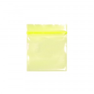 Transparent See-Thru Yellow Poly Plastic Flat Ziplock Bags 4 cm x 6 cm [1.5 inches x 2.35 inches] (600 Bags/Lot)