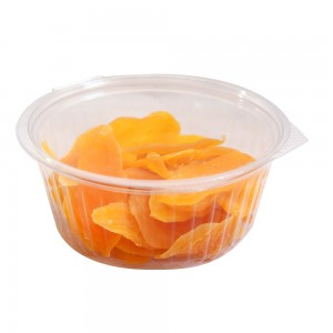 32oz Clear Plastic Bowl Container w/Flat Lid (250 Containers / Lot)