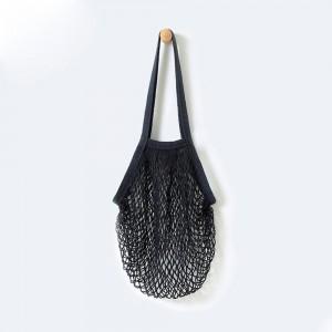 """Portable Black Reusable Material Mesh Net Bags 32 cm x 45 cm (12.5"""" x 17.5"""") (80 Bags/Lot)"""