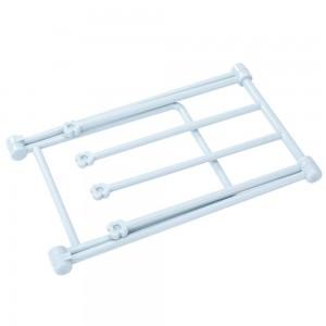 Indoor Foldable Blue Dishcloth & Towel Dryer Rack (20 x 16 x 25.5 cm) 100 Pieces/Lot
