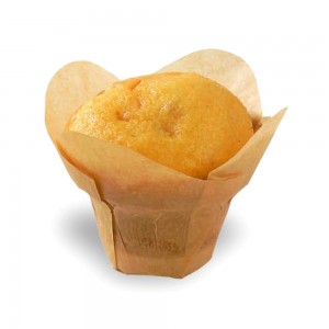 Gold Natural Tulip Paper Liners For Your Muffins/Cupcakes Tin Treat Cups 1650 Pieces/Lot