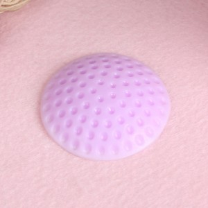 "Purple Pores Silicone Self Adhesive Doorknob Guard Bumpers 5 cm (1.75"") 800 Pieces/Lot"