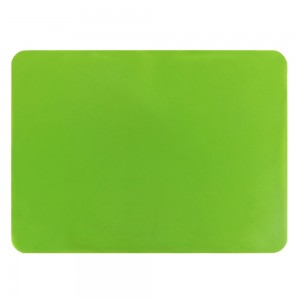 "Green Non-Slip Insulated Silicone Tableware Mat For Plates/Cups/Utensils 30 x 40 cm (11.75 x 15.5"") 80 Pieces/Lot"