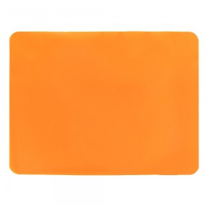"Orange Non-Slip Insulated Silicone Tableware Mat For Plates/Cups/Utensils 30 x 40 cm (11.75 x 15.5"") 80 Pieces/Lot"