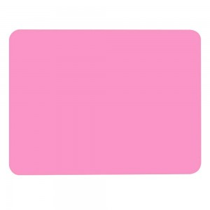 "Pink Non-Slip Insulated Silicone Tableware Mat For Plates/Cups/Utensils 30 x 40 cm (11.75 x 15.5"") 80 Pieces/Lot"