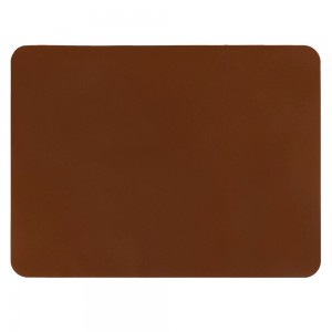 "Brown Non-Slip Insulated Silicone Tableware Mat For Plates/Cups/Utensils 30 x 40 cm (11.75 x 15.5"") 80 Pieces/Lot"