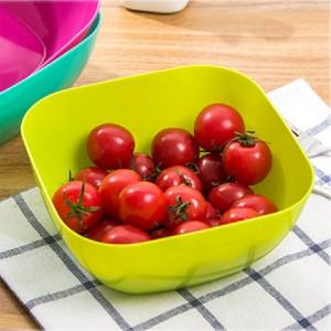 """5.5""""x5.5""""x2.75"""" Green Plastic Small Serving Bowls(200pcs Bowls/Lot)"""