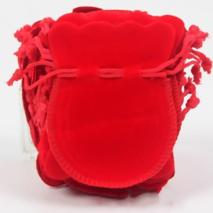 "Flannelette Fabric Favor Bags with Drawstring 8 cm x 10 cm (3"" x 3.75"") [1000 BAGS/LOT]"