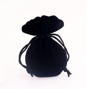 "Flannelette Fabric Favor Bags with Drawstring 9 cm x 12 cm (3.5"" x 4.5"") [800 BAGS/LOT]"