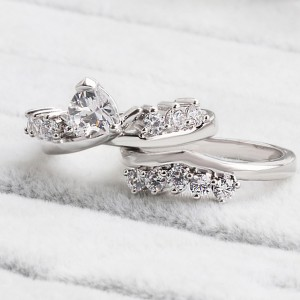 Silver Crown Eternity Engagement Ornate Ring 9(US) - 100/Lot