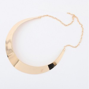 Gold Plated Collar Necklace - 100/Lot