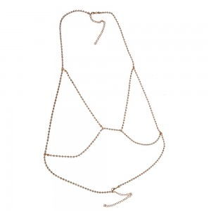 Gold Bikini Body Chain Jewelry - 90/Lot