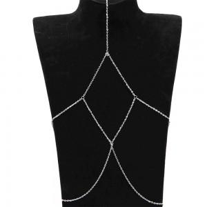 Silver Multi-Layered Thigh Leg Body Chain Jewelry - 200/Lot