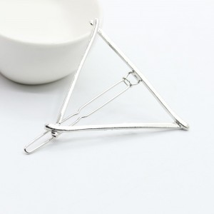 """Silver Triangle Hair Clip Accessory 5.8cm (2.25"""") - 100/Lot"""