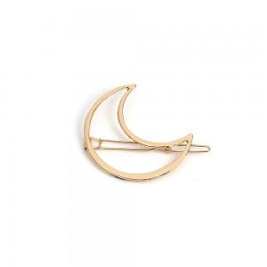 """Gold Moon Hair Clip Accessory 5.2cm x 2.3cm (2"""" x 0.75"""") - 200/Lot"""