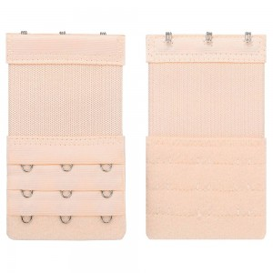 Women's Apricot Bra Extenders 3 Hook Elastic Stretchy Extension (700 Bra Extender/Lot)