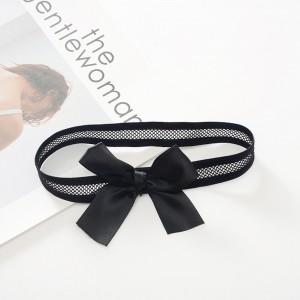Fashionable Black Sexy Style Keepsake Garters Set (200 Garters/Lot)