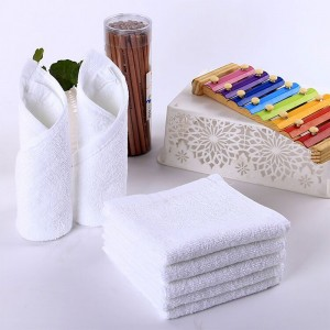 "9.75"" x 9.75"" Pure Cotton Washcloths [200 PCS/Lot]"