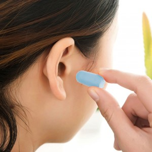 "Blue 0.75"" x 0.25"" Reusable Ear Plugs [800 Pairs/Lot]"