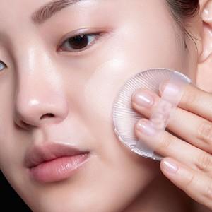 Clear Flat Makeup Sponge With Finger Strap [300 PCS/Lot]