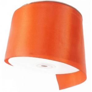 "Smooth Orange Polyester Ribbon for DIY Bows (2"" x 25 Yards) [60 Rolls/Lot]"